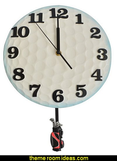 Golf Pendulum Wall Clock for Home Clocks