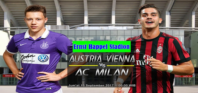 Austria Vienna vs AC Milan 15 September 2017