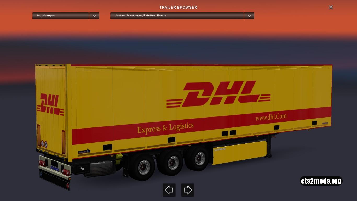 DHL Schmitz Trailer