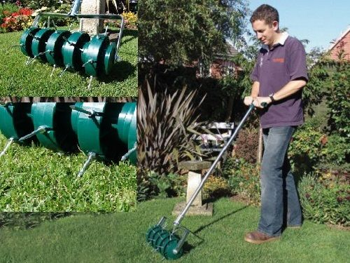 Techniques For Gr Treatment Aeration Best Manual Lawn Aerator