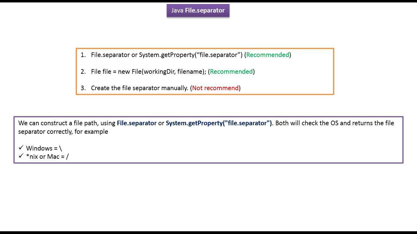 Java ee java tutorial java io java file how to use file java tutorial java io java file how to use file separator baditri Gallery