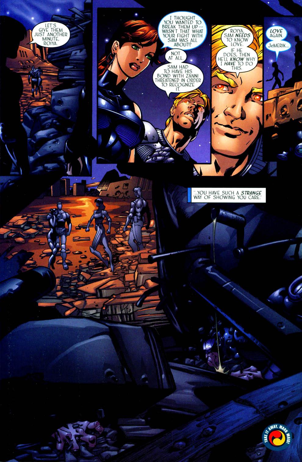 Read online Sigil (2000) comic -  Issue #11 - 23