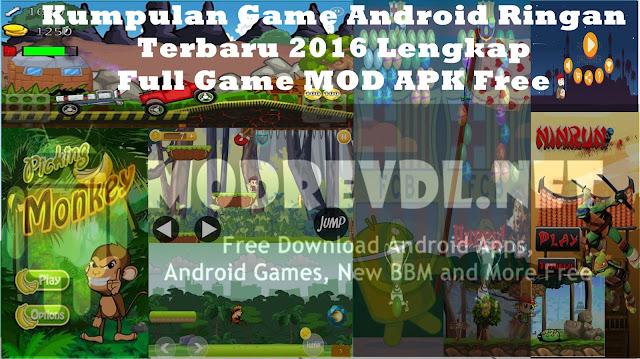 Kumpulan Game Android Ringan Terbaru 2016