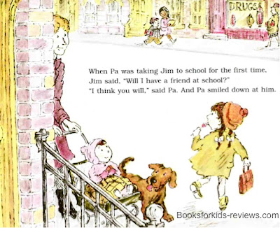 exclusive BooksforKids-reviews image #1 from WILL I HAVE A FRIEND? by Miriam Cohen, Lillian Hoban