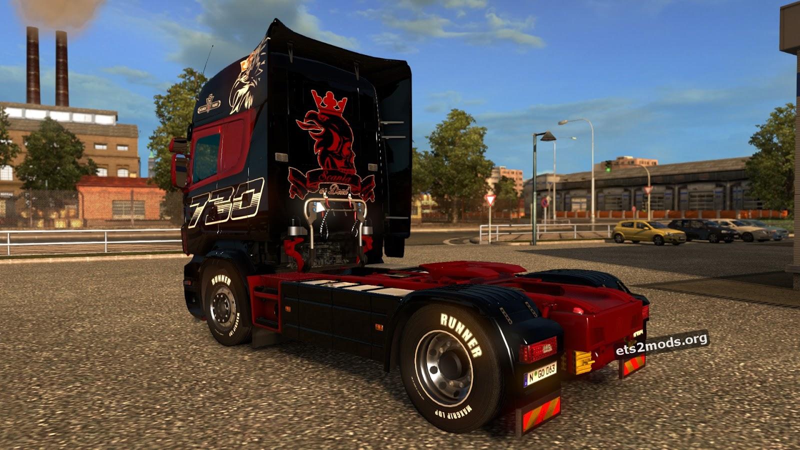 Heavy Transports Skin for Scania RJL