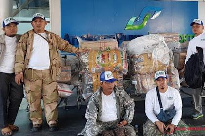 Warbiyasah... Masyaallah, Tetap Fokus Bantu Umat, FPI Banten Kirim 1,4 Ton Bantuan Untuk Gempa Lombok