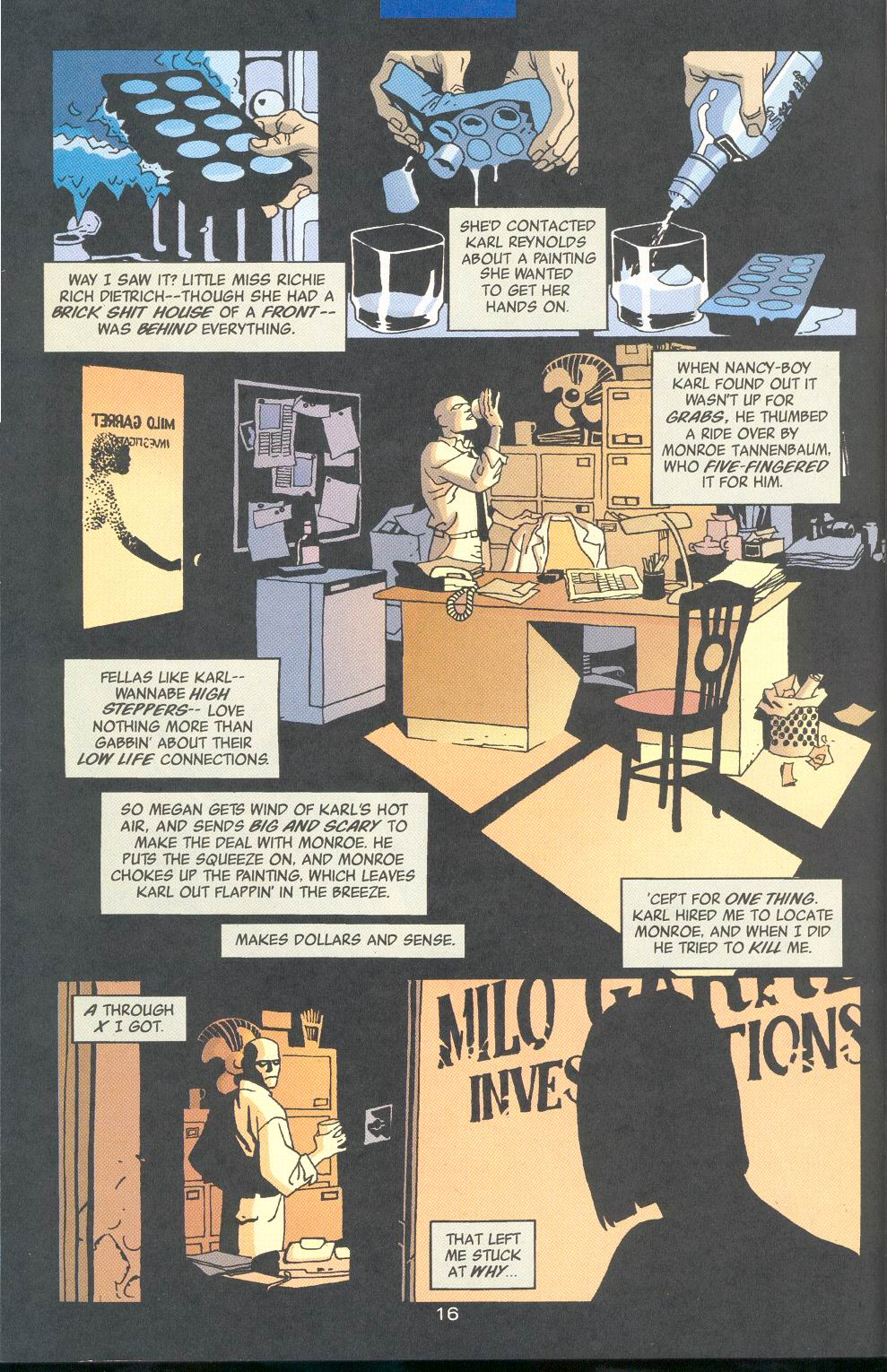 Read online 100 Bullets comic -  Issue #33 - 19