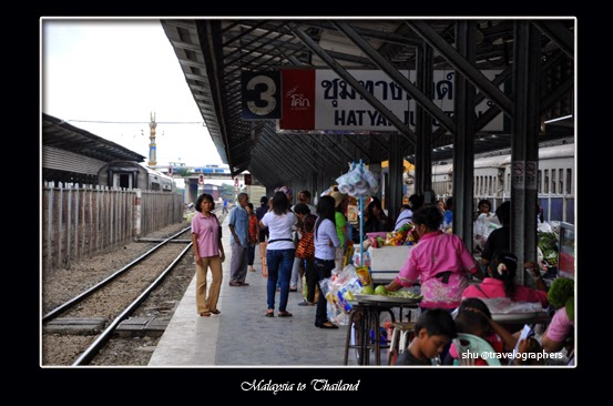 haadyai, hatyai, thailand, south thailand, songtheaw, temple, backpacking thailand, kota hatyai, hatyai railway station, stasiun hatyai, stasiun padang besar, cross border malaysia thailand, senandung langkawi