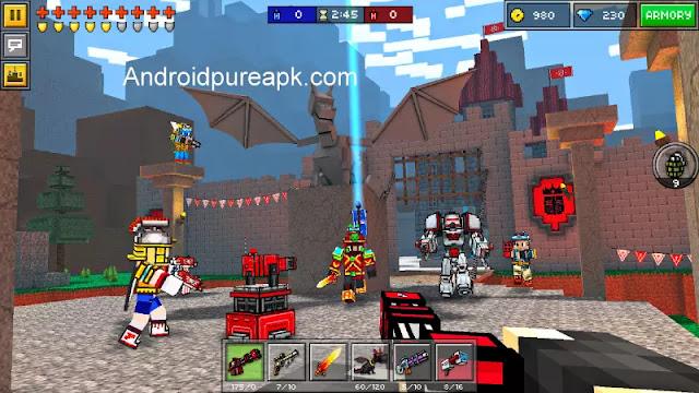 Pixel Gun 3D (Pocket Edition) Apk Download Mod+Data