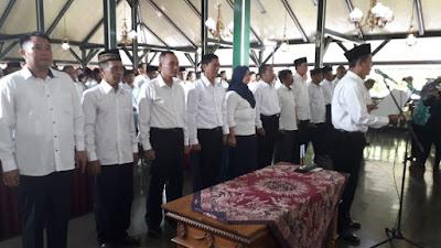 Wow !!! 843 Calon Kades Gelar Deklarasi Pilkades Damai di Pendopo Kabupaten Purworejo