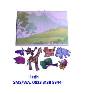 Mainan Edukasi Playboard Jungle