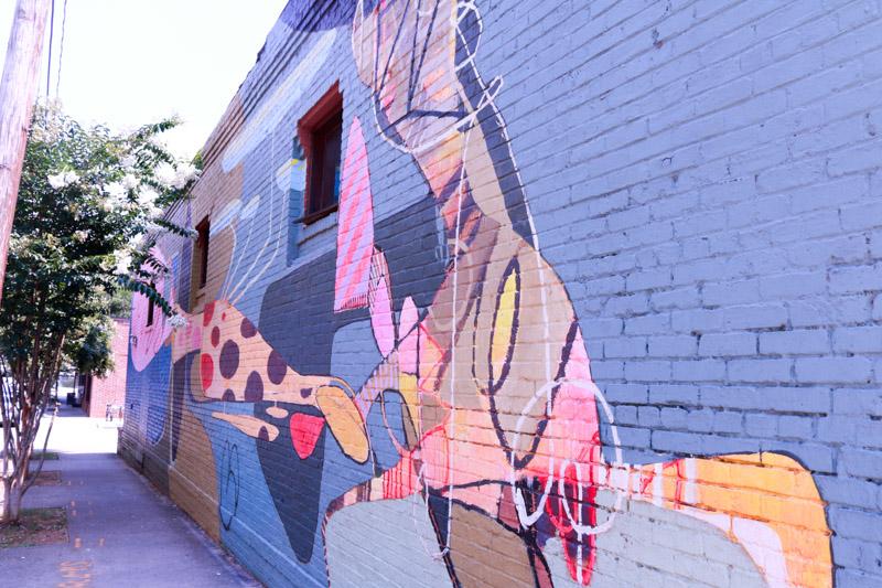 murals in atlanta's Inman park