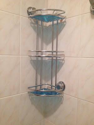 buongiorno ragazze eccomi a voi per parlarvi di un prodotto utilissimo nei nostri bagni si tratta di un angoliera bellissima in acciaio