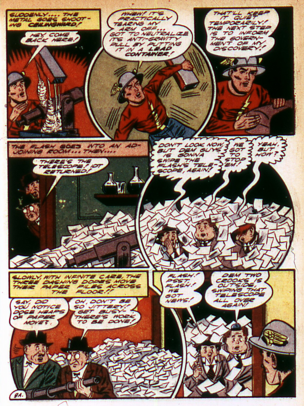 Read online All-Flash comic -  Issue #9 - 11