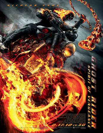Poster Of The Huntsman Ghost Rider 2007 Dual Audio 400MB BRRip 720p ESubs HEVC - Extended Free Download Watch Online Worldfree4u