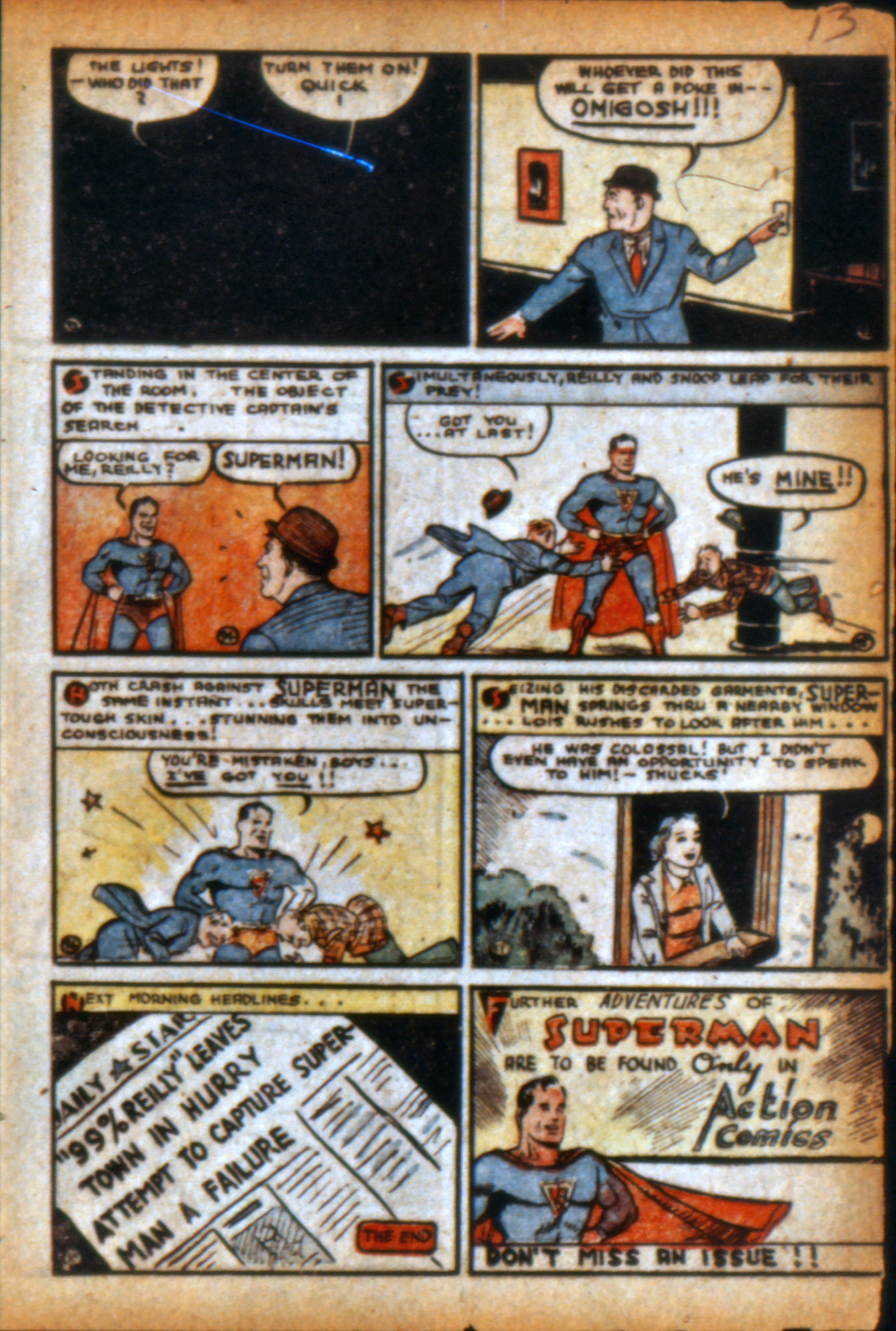 Read online Action Comics (1938) comic -  Issue #9 - 16