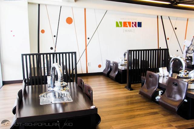 Inside MARU - Korean Restaurant