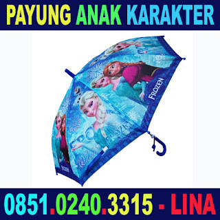Payung Anak Karakter - Pabrik Payung Surabaya Murah Grosir