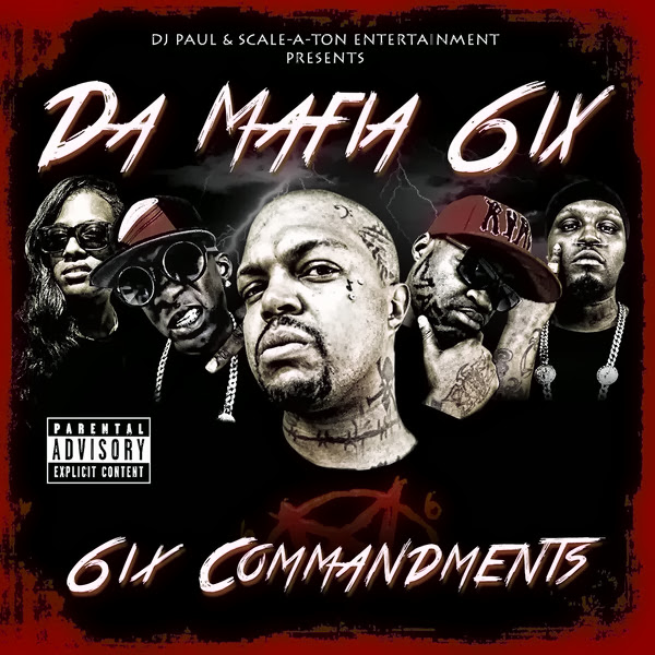 Da Mafia 6ix - 6ix Commandments Cover