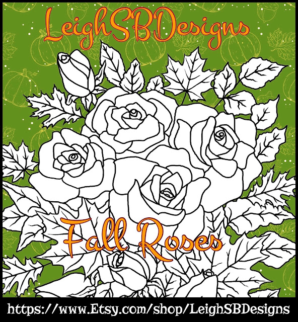 FALL ROSES NEW RELEASE!