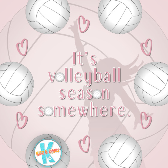 It's volleyball season somewhere | Team spirit gifts for volleyball players