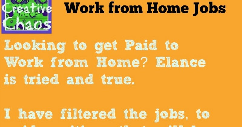 get paid to work from home blogger jobs kids creative chaos. Black Bedroom Furniture Sets. Home Design Ideas