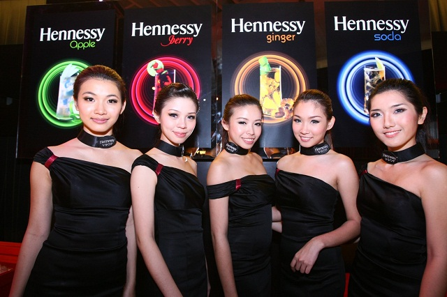 The four signature drinks of Hennessy Artistry