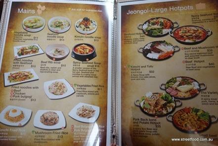 menu makanan