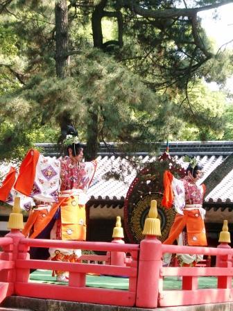 Unoha Shinji (holy ceremony for the anniversary of Sumiyoshi Shrine), at Sumiyoshi Shrine, Osaka