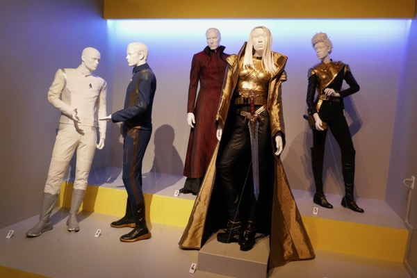 Star Trek Discovery season 1 TV costumes