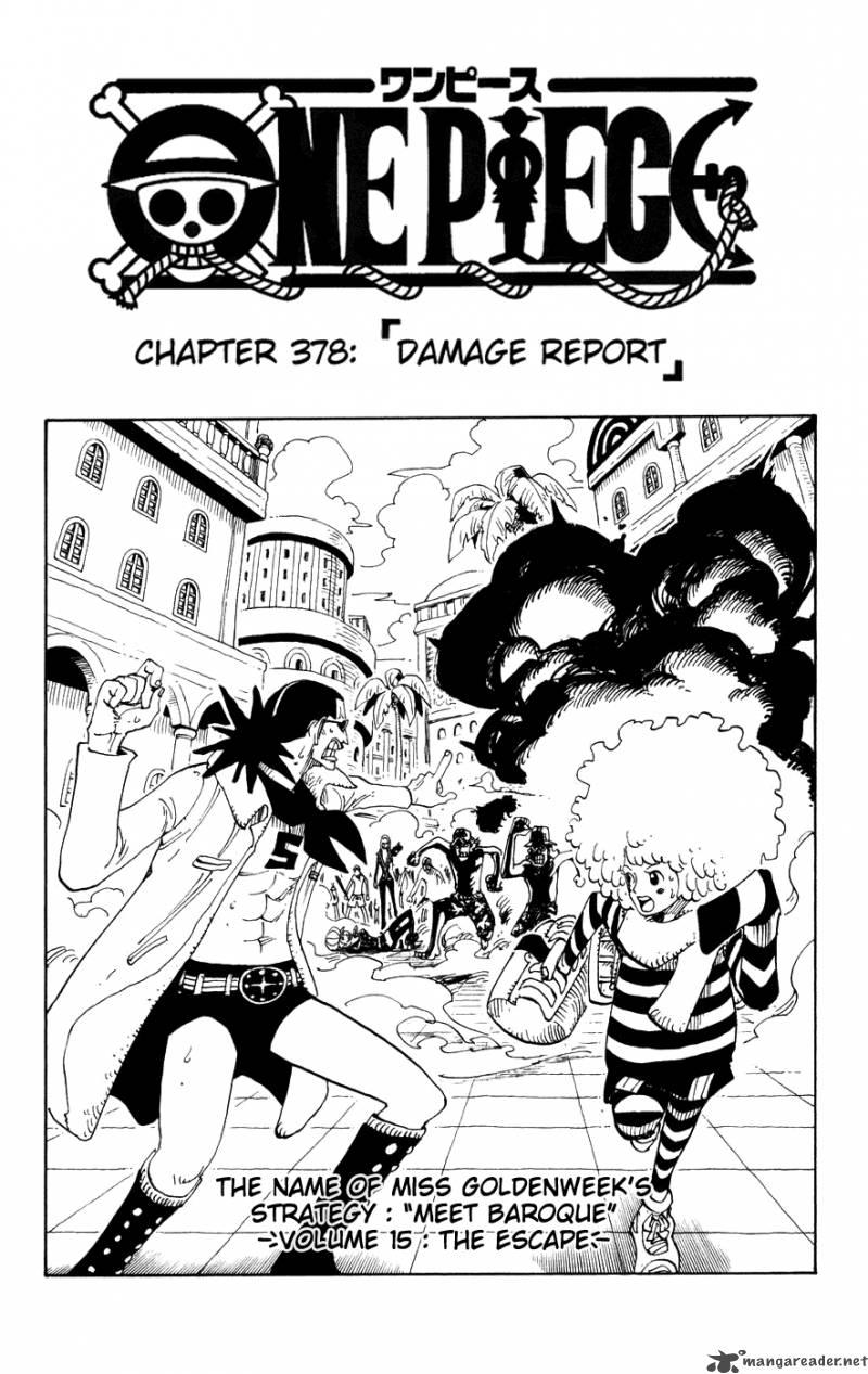 One Piece Ch 378