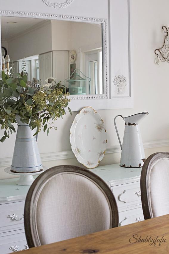 farmhouse elegant dining room