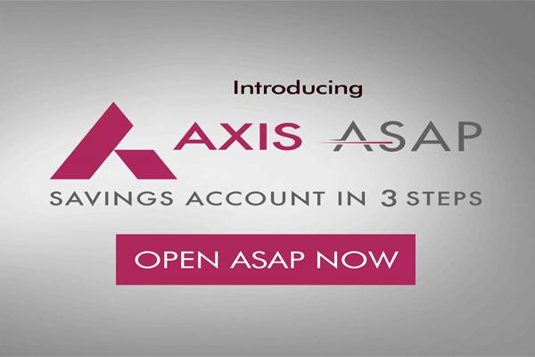 AXIS ASAP Bank Account & Get Free Virtual Debit Card