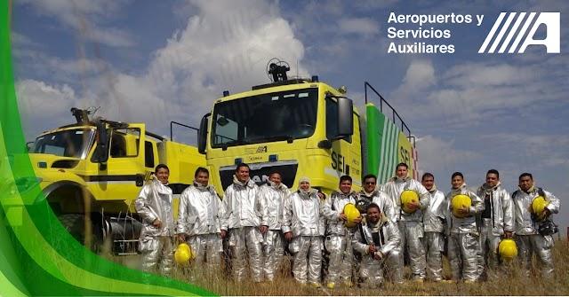 AEROPUERTOS Y SERVICIOS AUXILIARES DESARROLLA EL  PRIMER ESTÁNDAR DE COMPETENCIA PARA BOMBERO AEROPORTUARIO EN MÉXICO