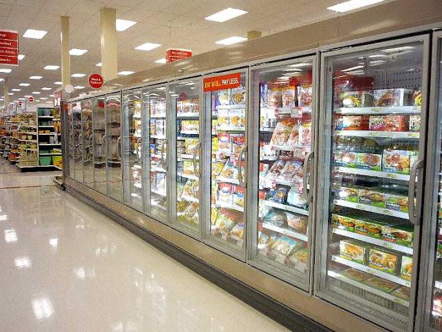Compras en el supermercado Target en Orlando