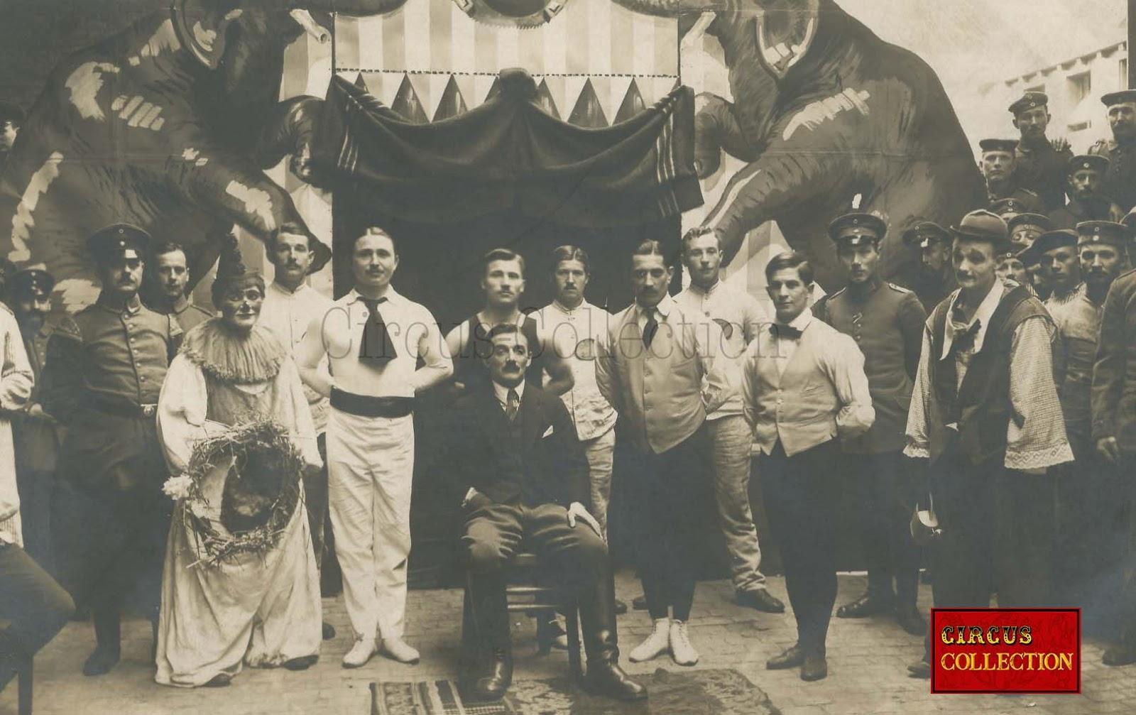 circus collection cirque inconnu