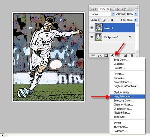 Cách tạo tranh vẽ từ hình ảnh bằng photoshop-2