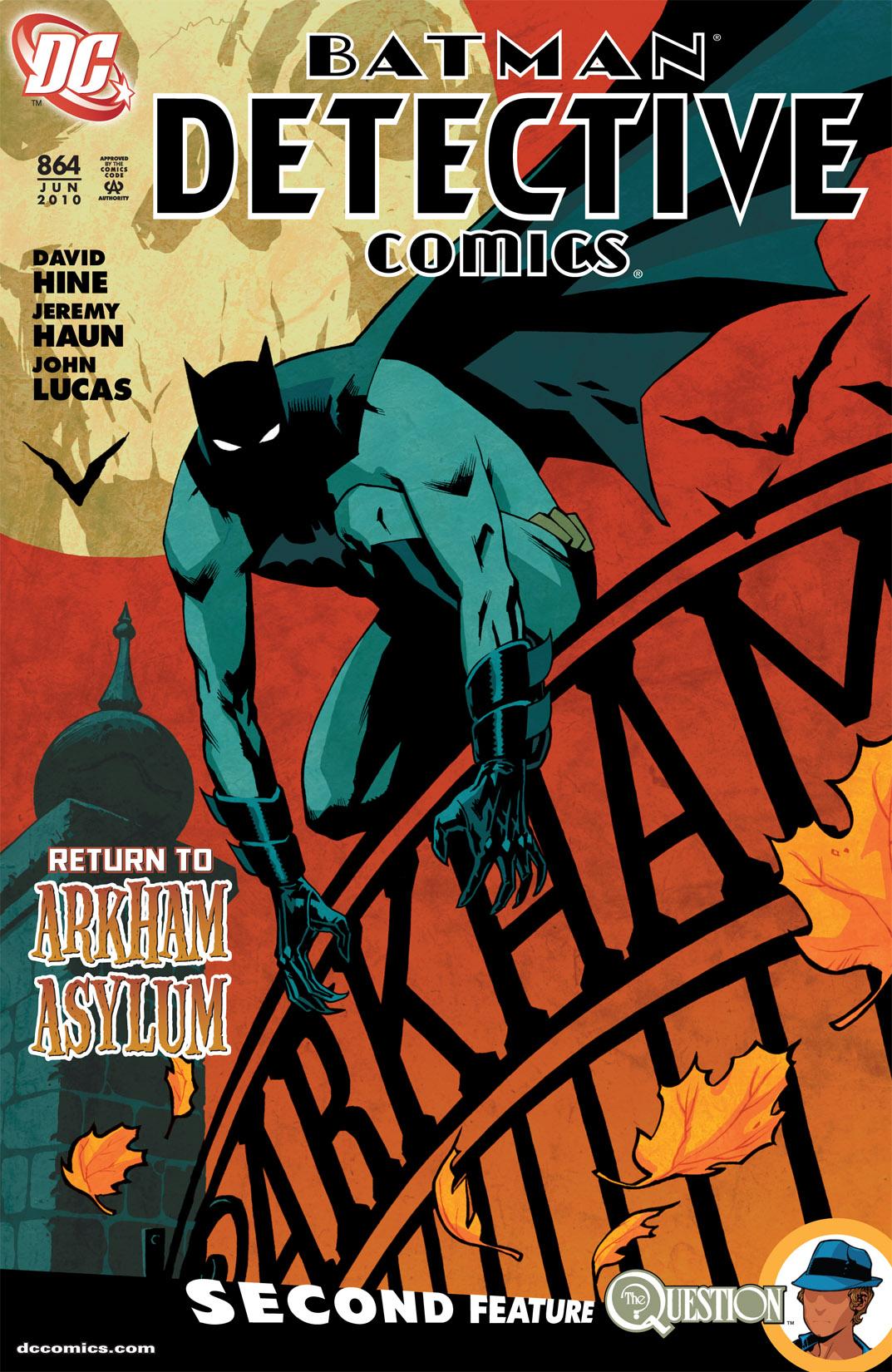 Detective Comics (1937) 864 Page 0