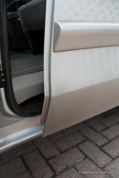 how to hide rust on a car