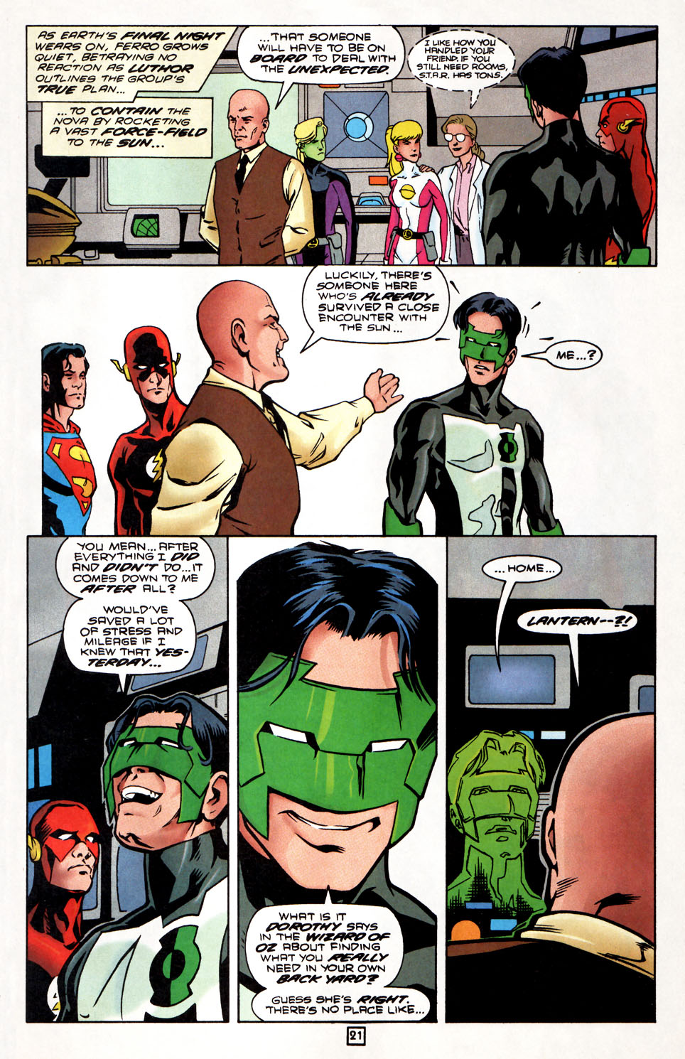 Legion of Super-Heroes (1989) 86 Page 21