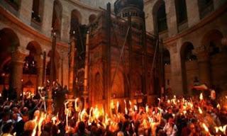المفاجأة التي اكتشفها عمال القبر المقدس خلال الترميم!!!