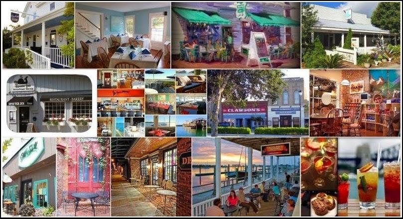 Restaurant Guide Beaufort Nc