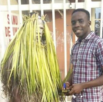 Masquerade converts to Christianity and becomes an evangelist in 6 months.