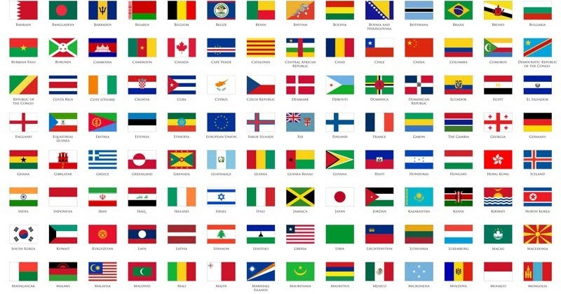 Mengenal 7 Bendera Negara Terunik Beserta Penjelasannya ...