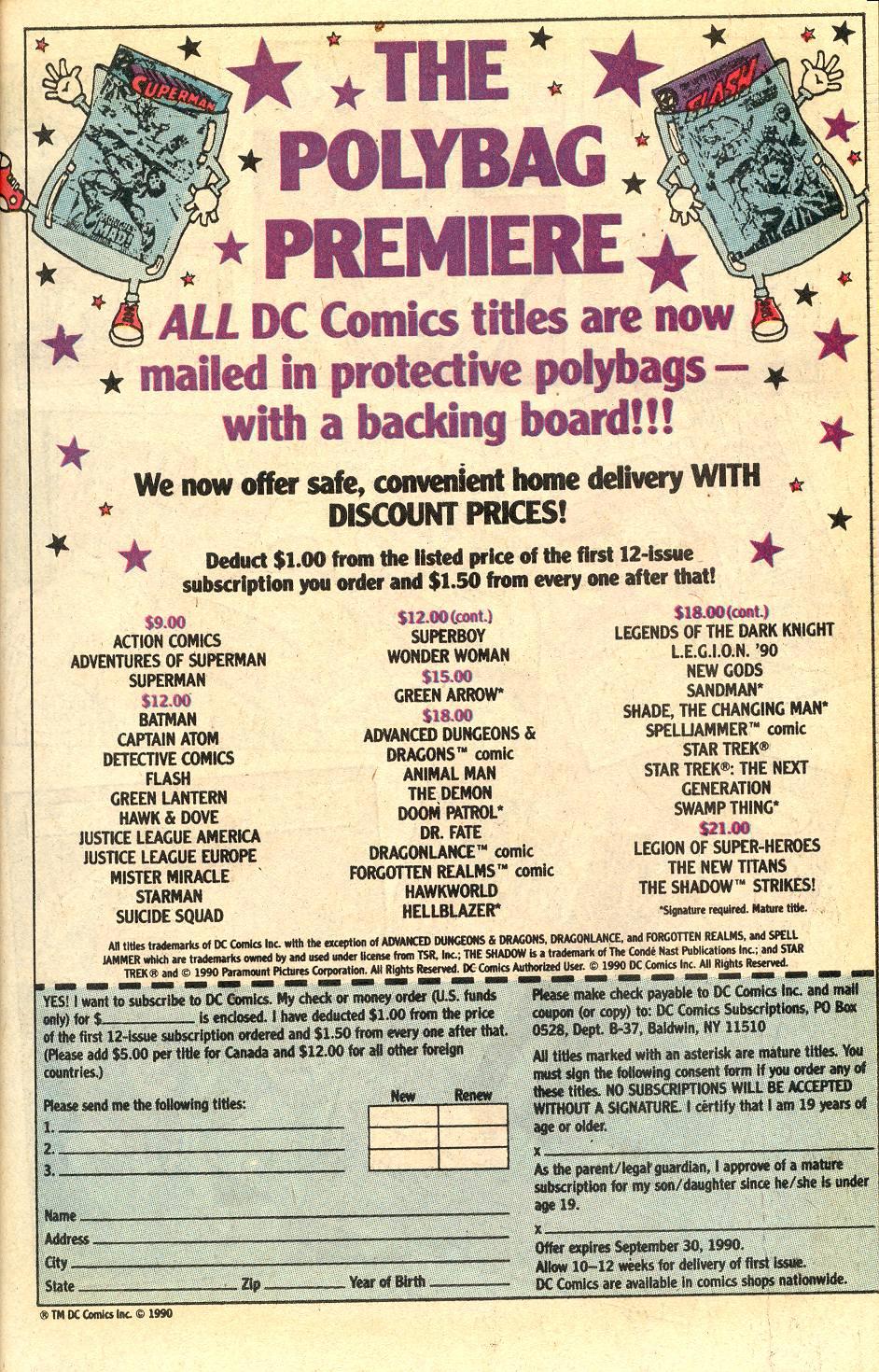 Read online Secret Origins (1986) comic -  Issue #50 - 35