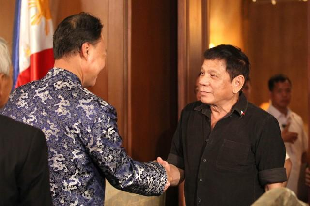 PH-CHINA Ties to Get Stronger; Duterte Says 'Unlike Western Nations, They Never Criticize, They Just Help Quietly'