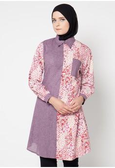 Trend Model Baju Batik Kantor Wanita Terbaru Masa Kini