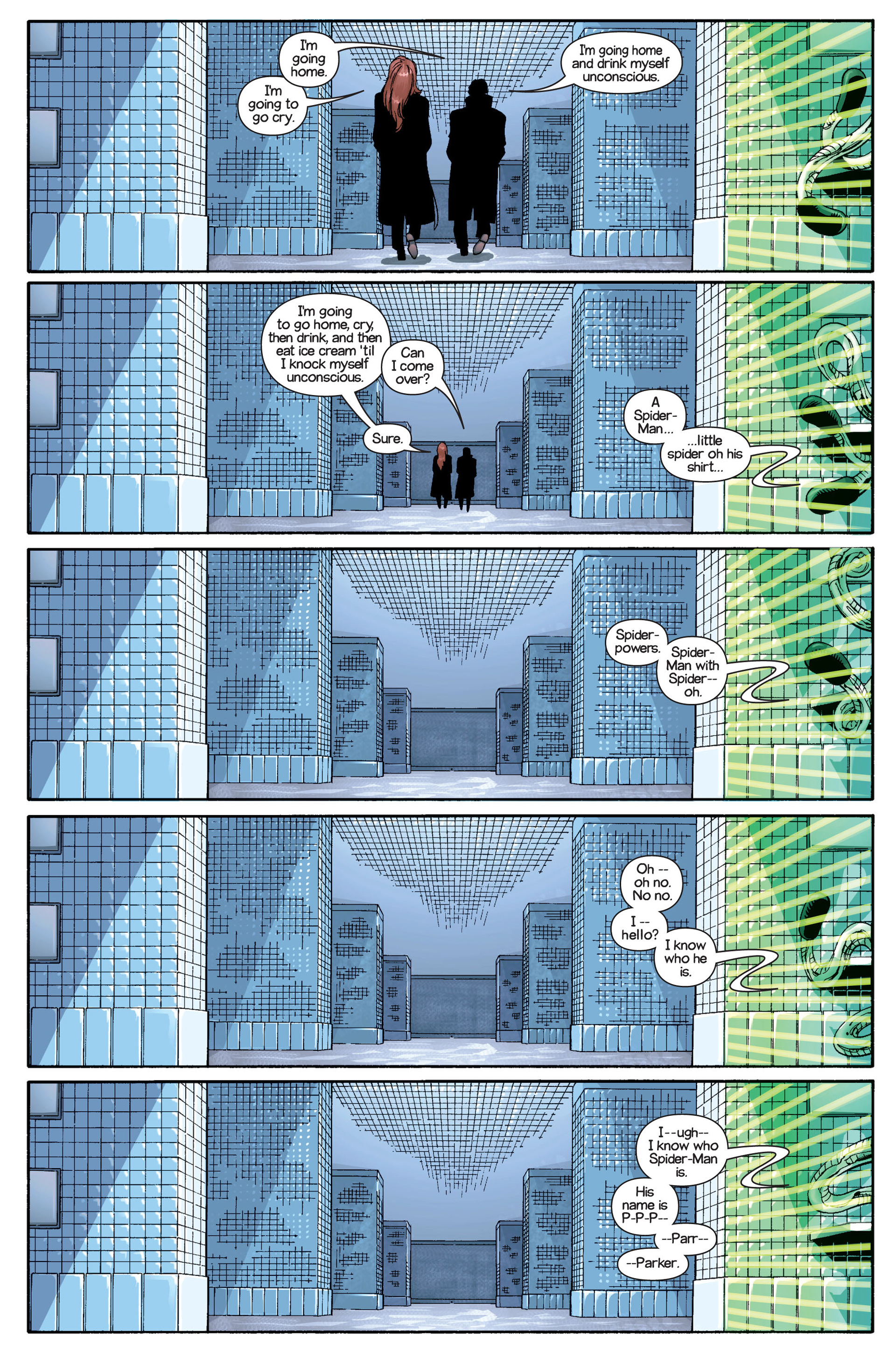 Read online Ultimate Spider-Man (2000) comic -  Issue #21 - 20