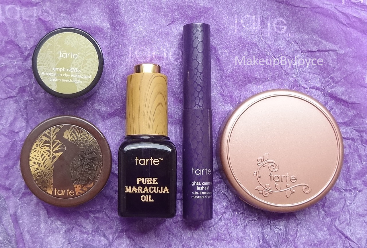Makeupbyjoyce Swatches Tarte Cosmetics 500 Point