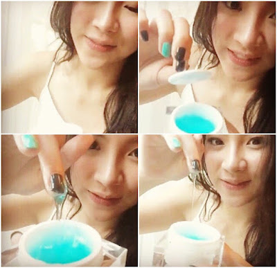 Jelly Blue - Memberi Efek Glowing dan Bening Pada Wajah